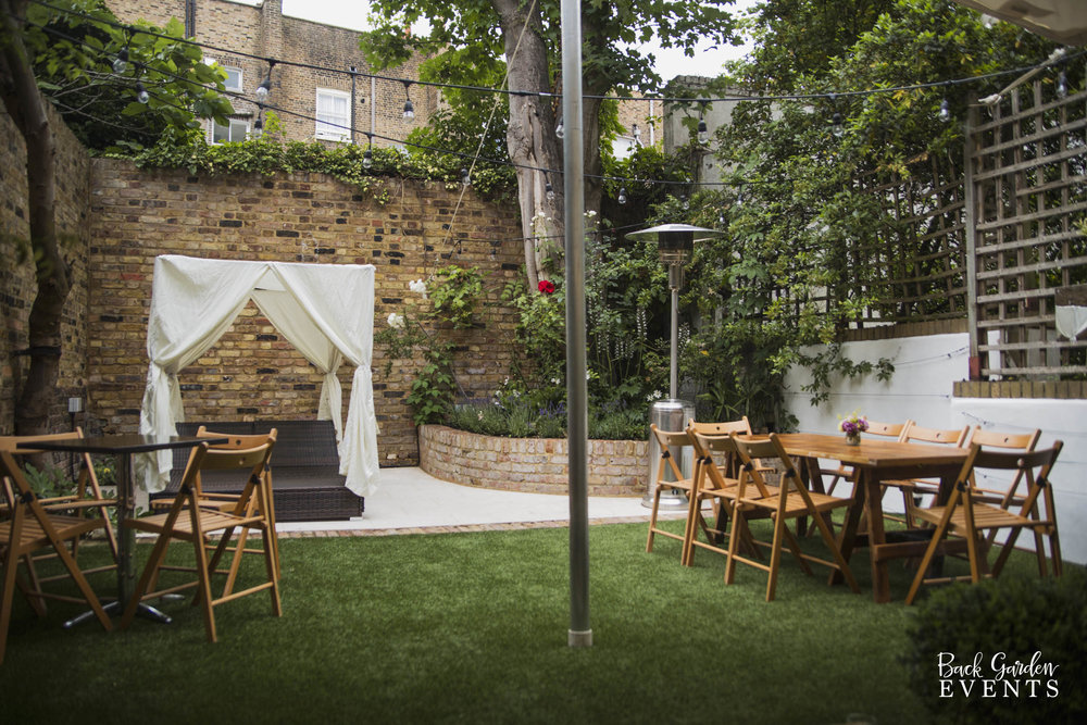 Last Minute Event Planner London [Back Garden Events]