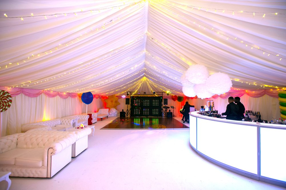 Marquee Styling + Bar Hire