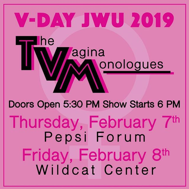 #VDay is coming up! Stop by the Gender Equity Center to buy your tickets or get them through JWULink. Can't wait to see all of you there 🙌🏻