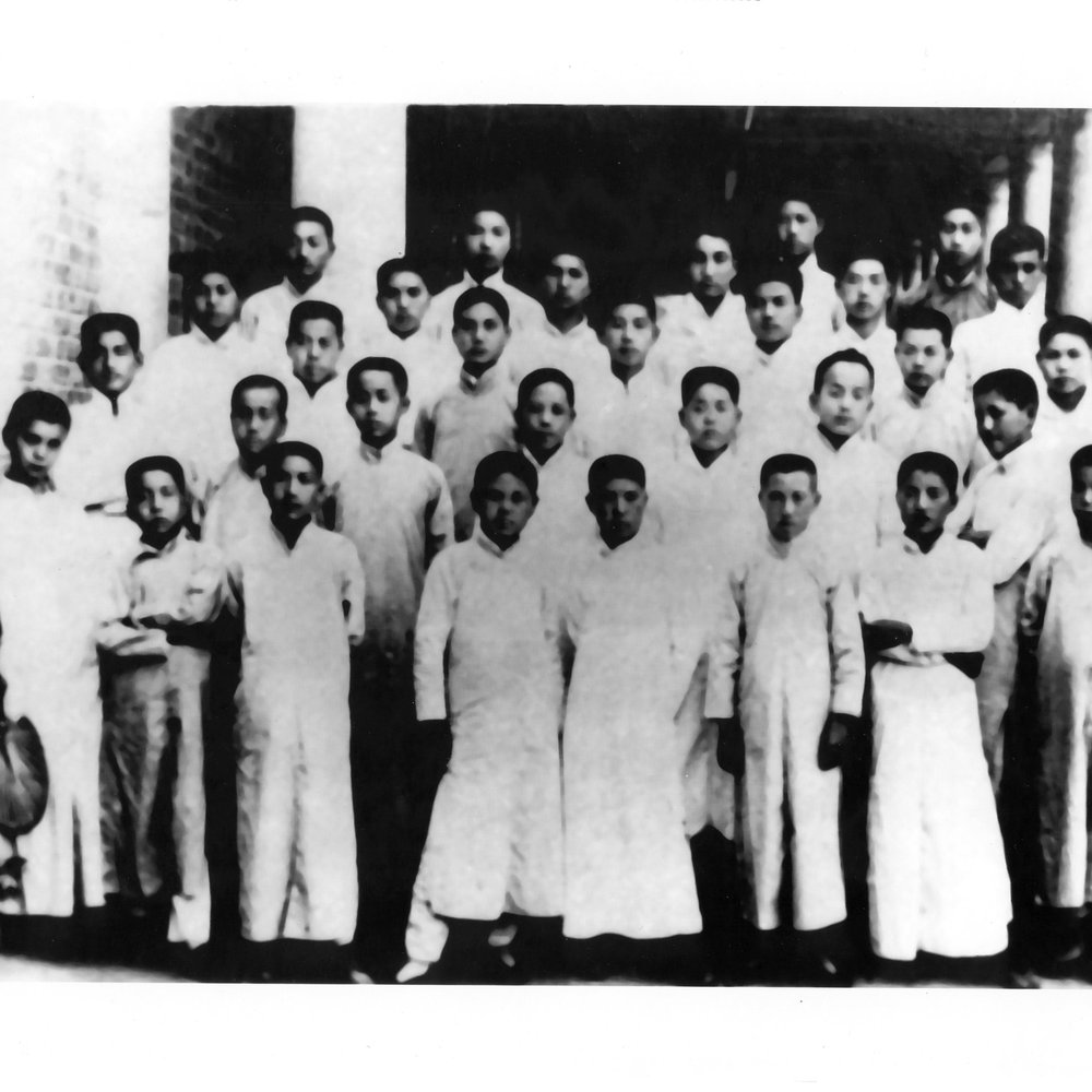 Tsinghua University, Class of 1926. Image courtesy David Chang.