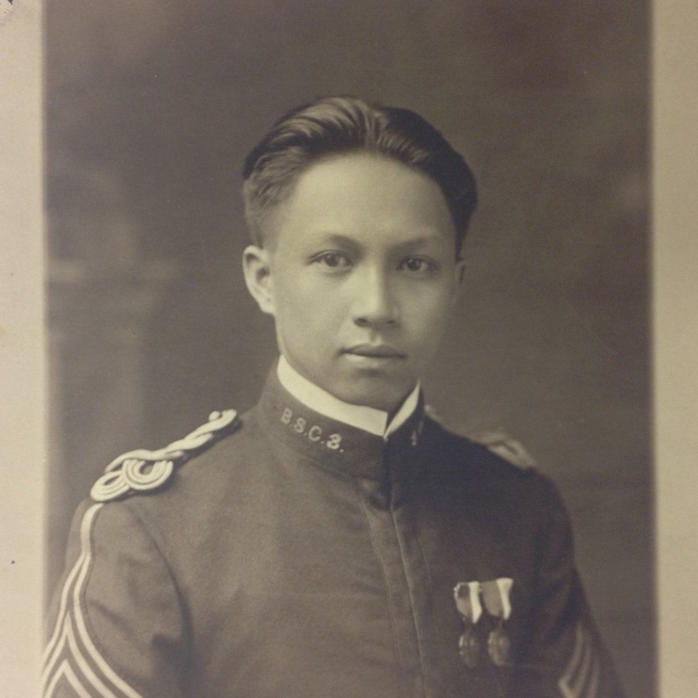 William Ding Moy, ca. 1915. Image courtesy Beverly Wing.