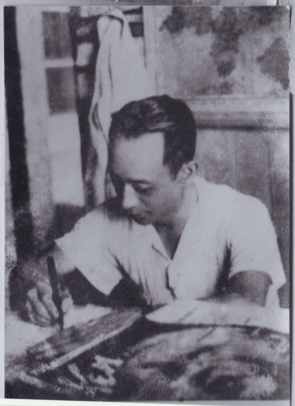 YY Wong drawing. Date unknown. Image courtesy Alexander Jay.