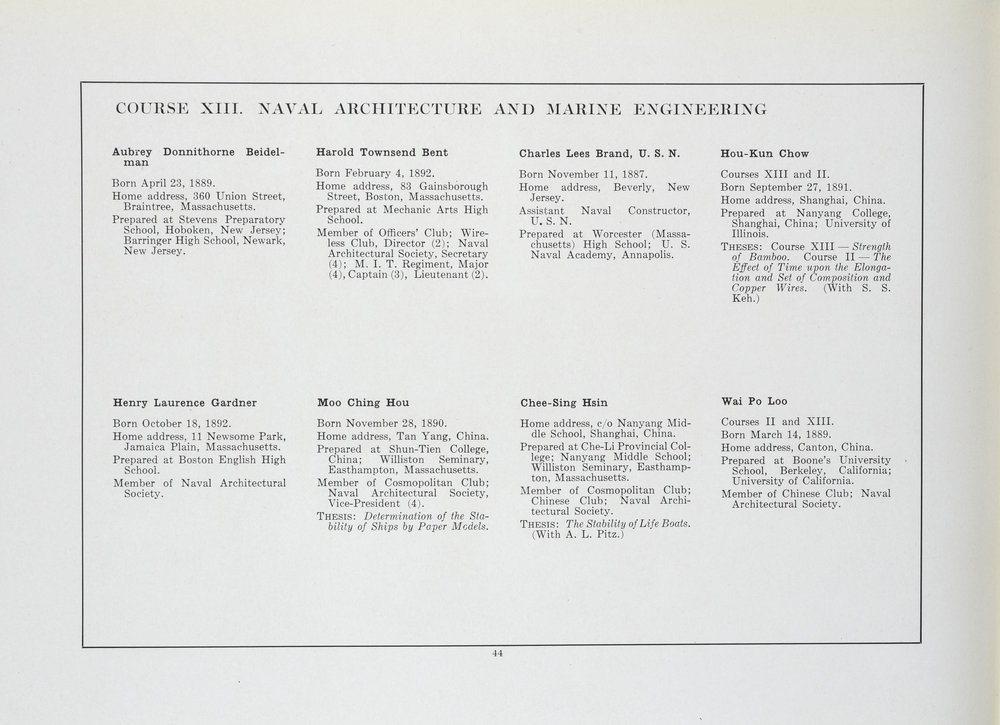 MIT Senior Portfolio 1914. Image courtesy MIT Archive and Special Collections.