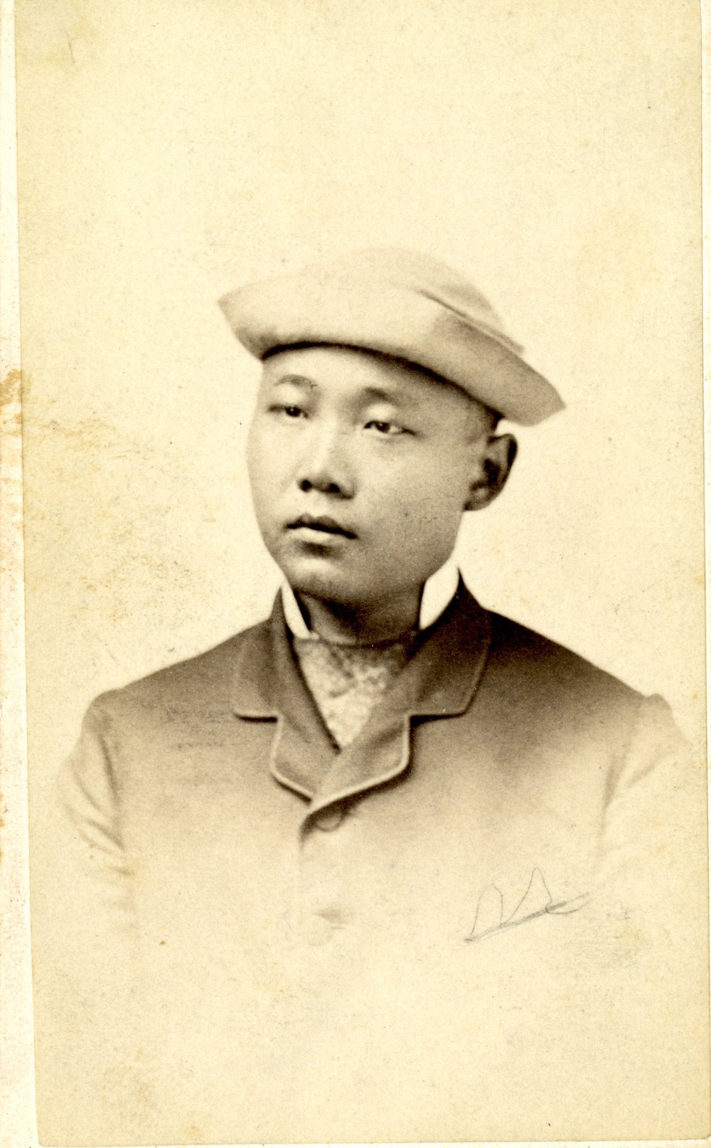 Kwong Wing Chung ca. 1873, 2-2-36, Thomas E. LaFargue Papers, 1873-1946, courtesy Manuscripts, Archives, and Special Collections (MASC), Washington State University Libraries.