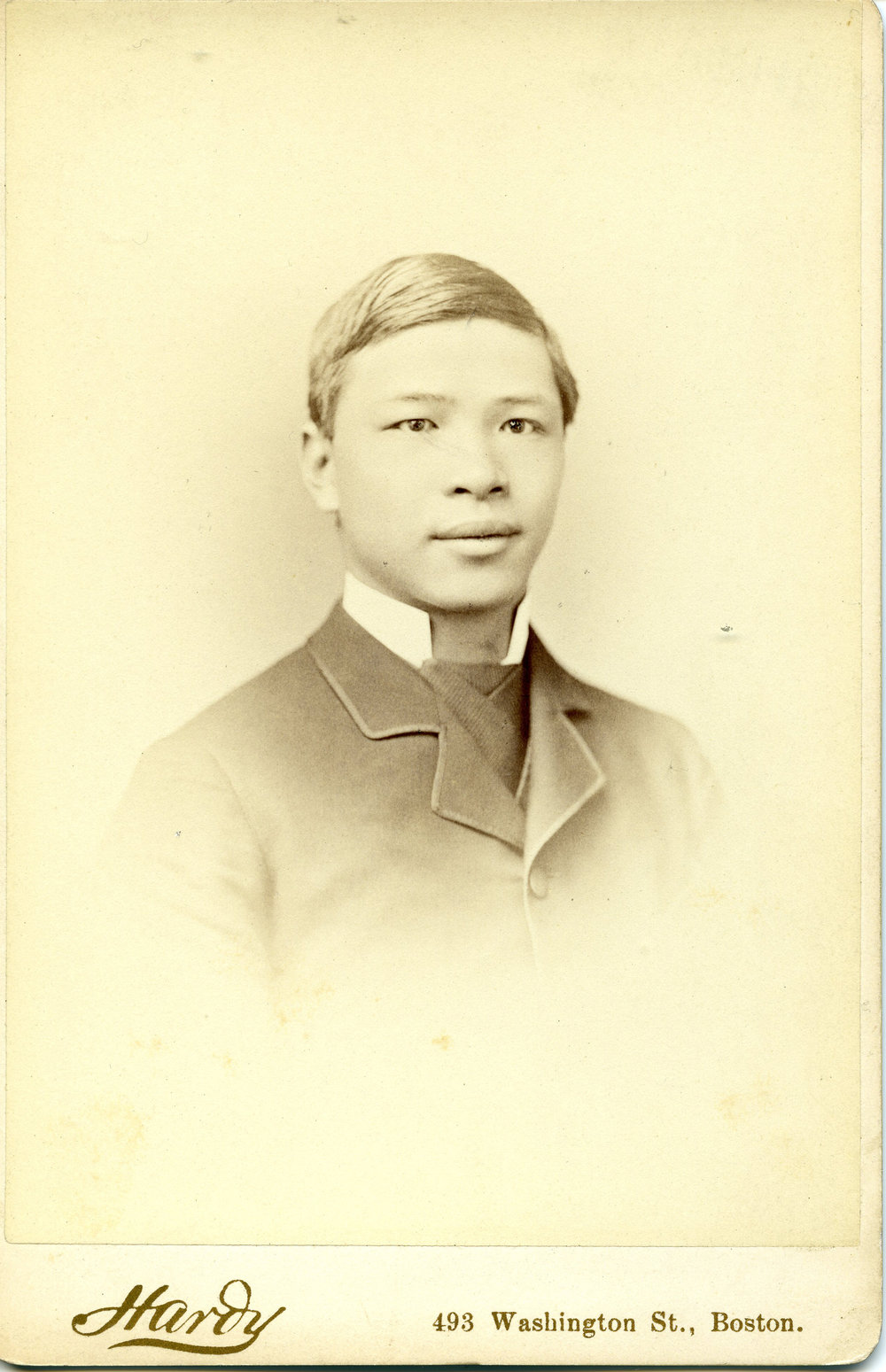 Seu Nam Yang, ca. 1880. Courtesy of Phillips Academy Archives & Special Collections.
