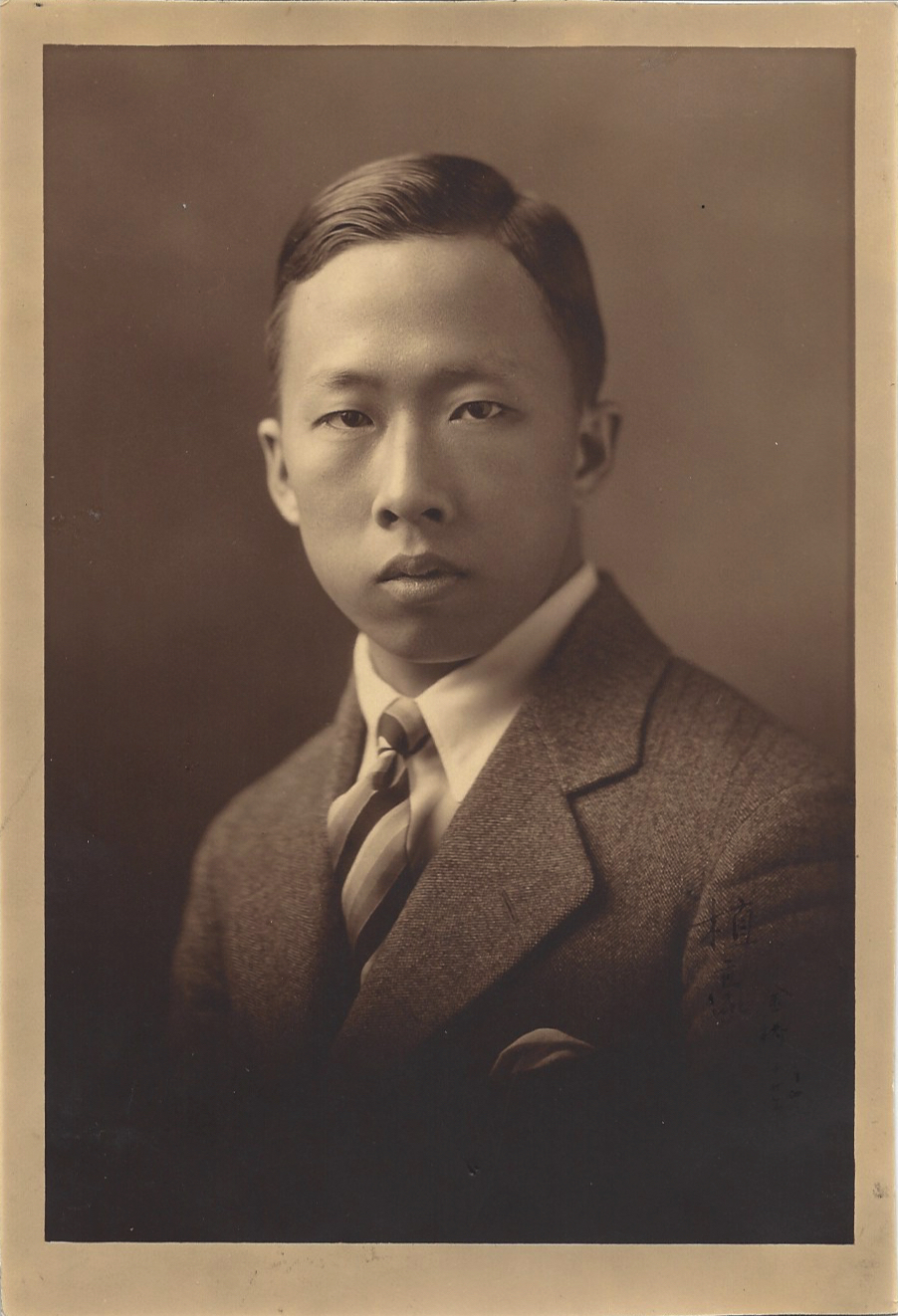 Chik-Ho Lam in his youth, nd. Courtesy Shona Lam.