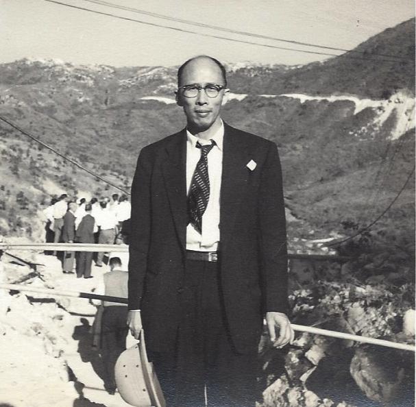 CH Lam, Tai Lam Reservoir, ca. 1955. Courtesy Shona Lam.