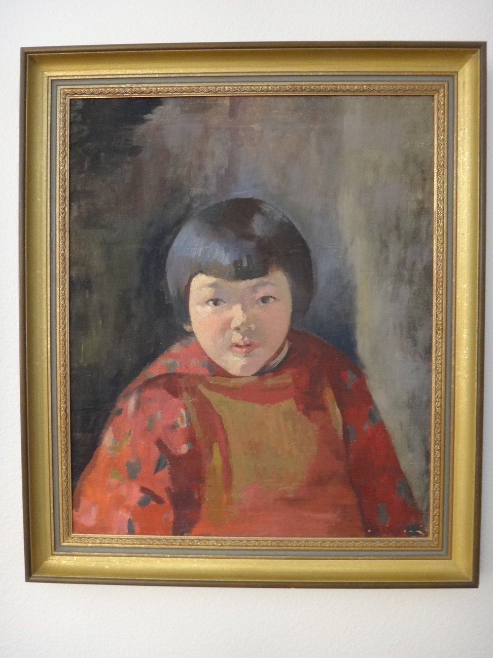 Portrait of Mary ca. 1928, painted by French-trained relative.