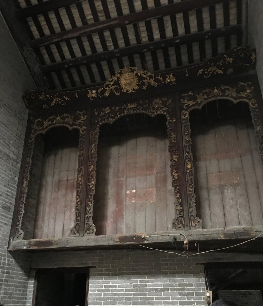 Cheong house, interior