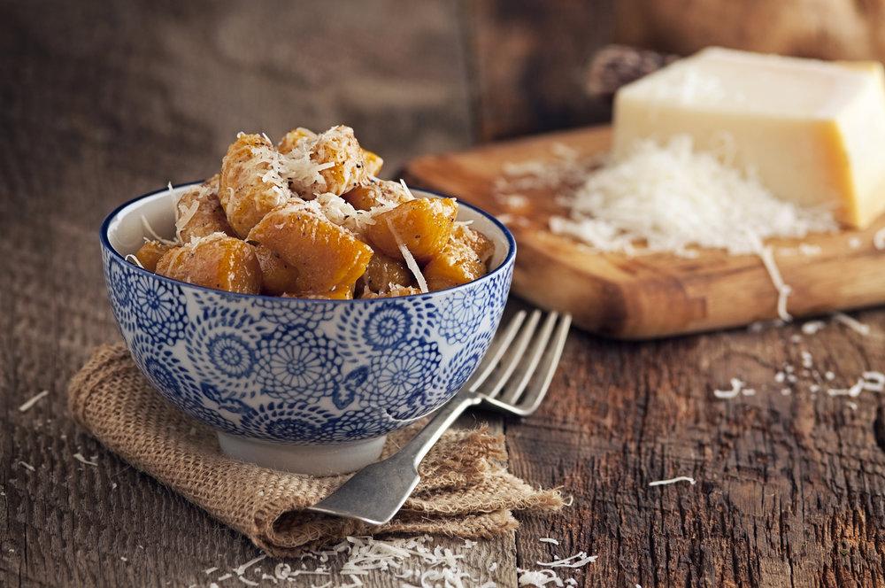 Sweet Potato & Nutmeg Gnocchi  Photo credit: Jason Poole @ http://analogjeans.com/