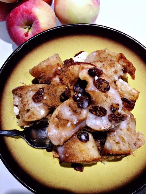 serving of apple bread pudding.JPG