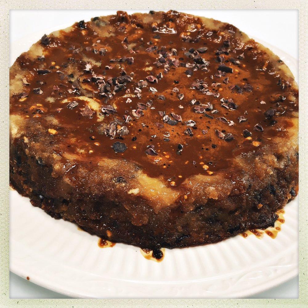 upside down banana cake with espresso drizzle 1.jpg