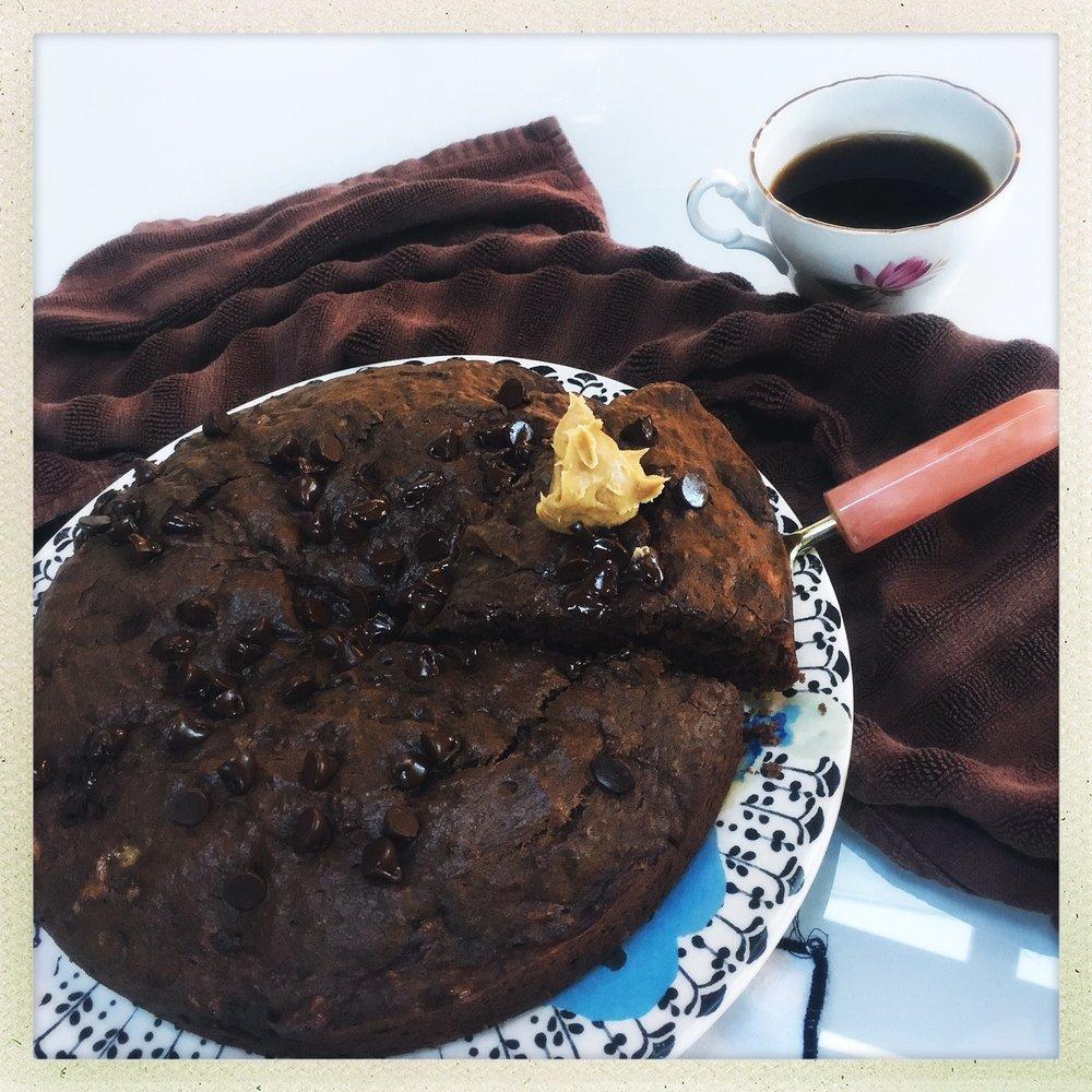 chocolate peanut butter banana cake  7.jpg