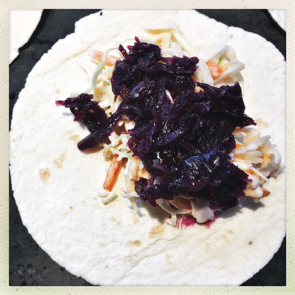add pickled red cabbage to tacos.jpg