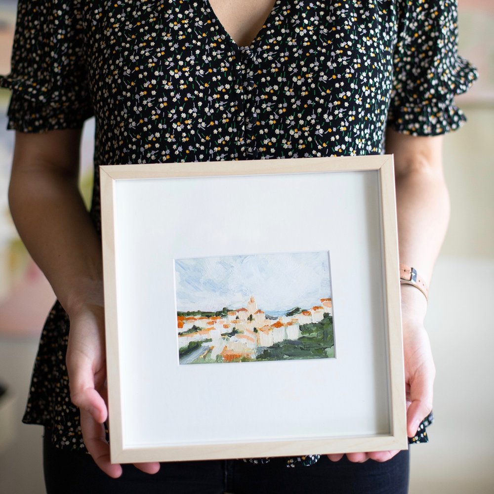 DIY Framing: How To Make A Big Impression With Tiny Art -