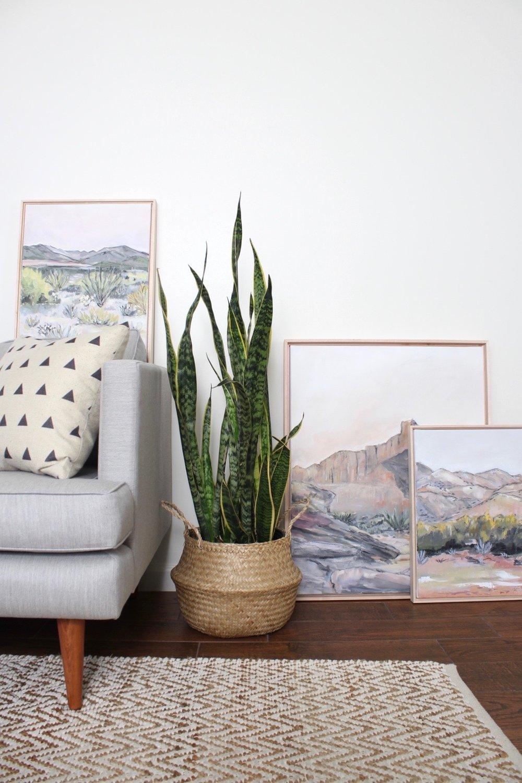Laurie Anne Art Desert Paintings