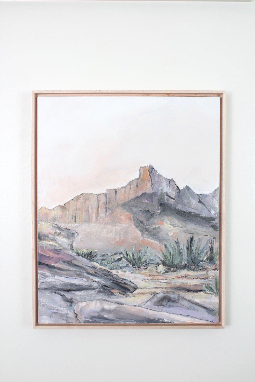 Laurie Anne Art Desert Sanctuary painting