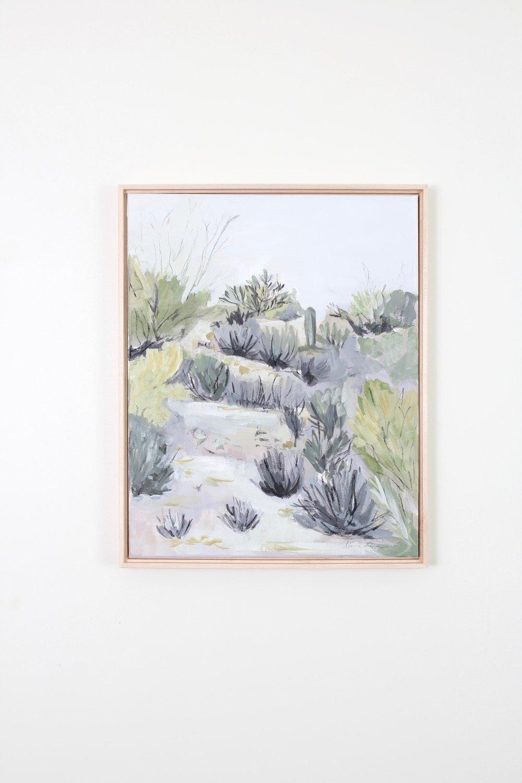 Laurie Anne Art morning desert painting