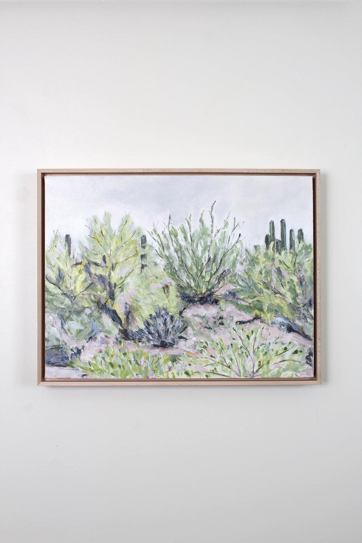 Laurie Anne Art desert plants painting