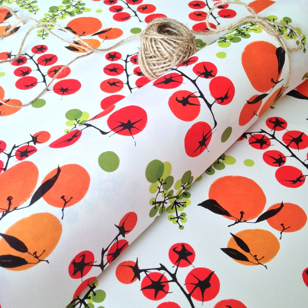 Matching wrapping paper: WP_TN_01