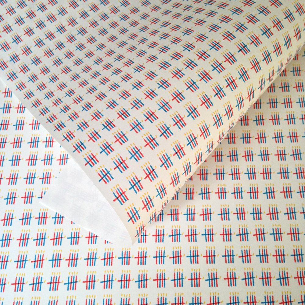 Matching wrapping paper: WP_NWC_02