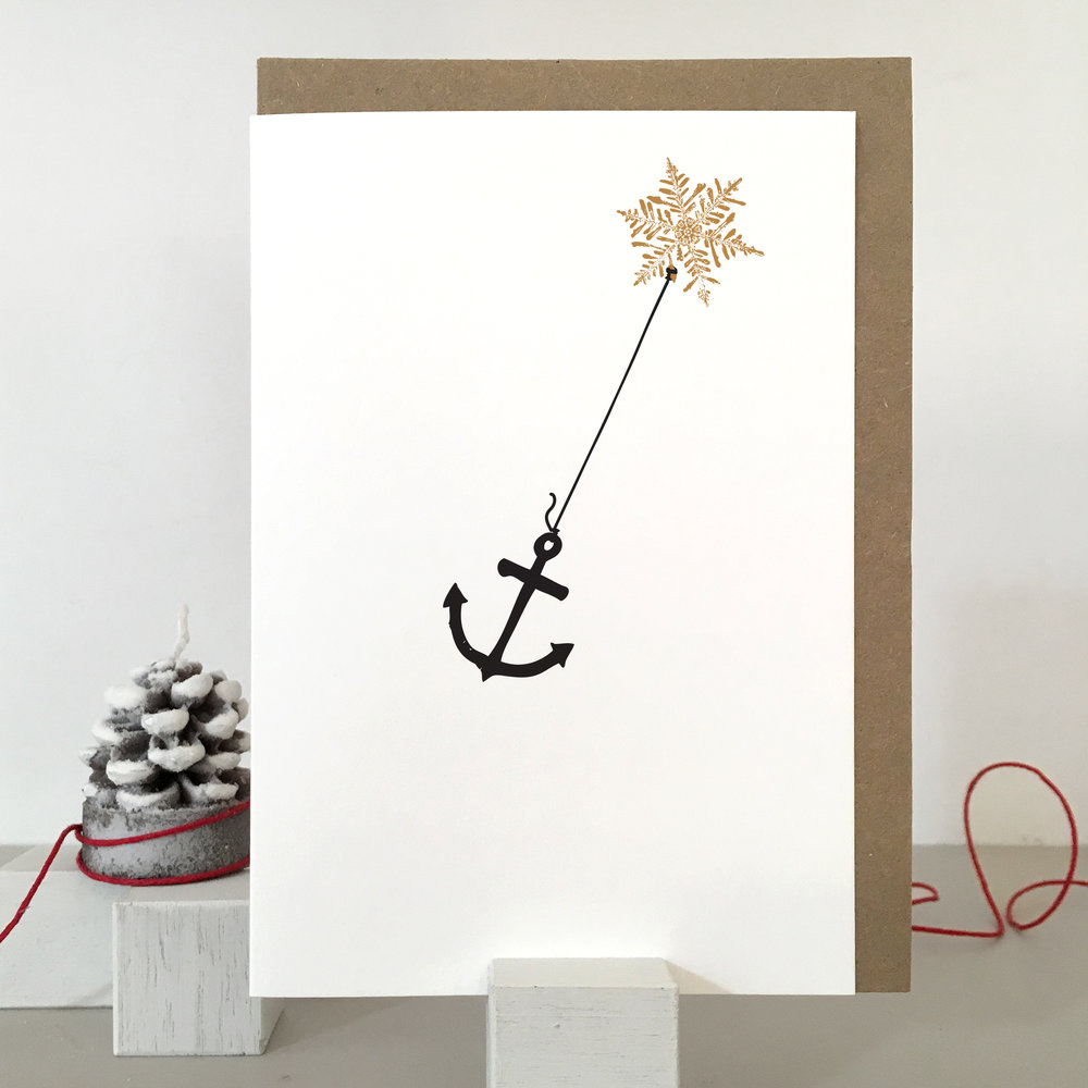 Anchor Christmas Card: SF02_anchor