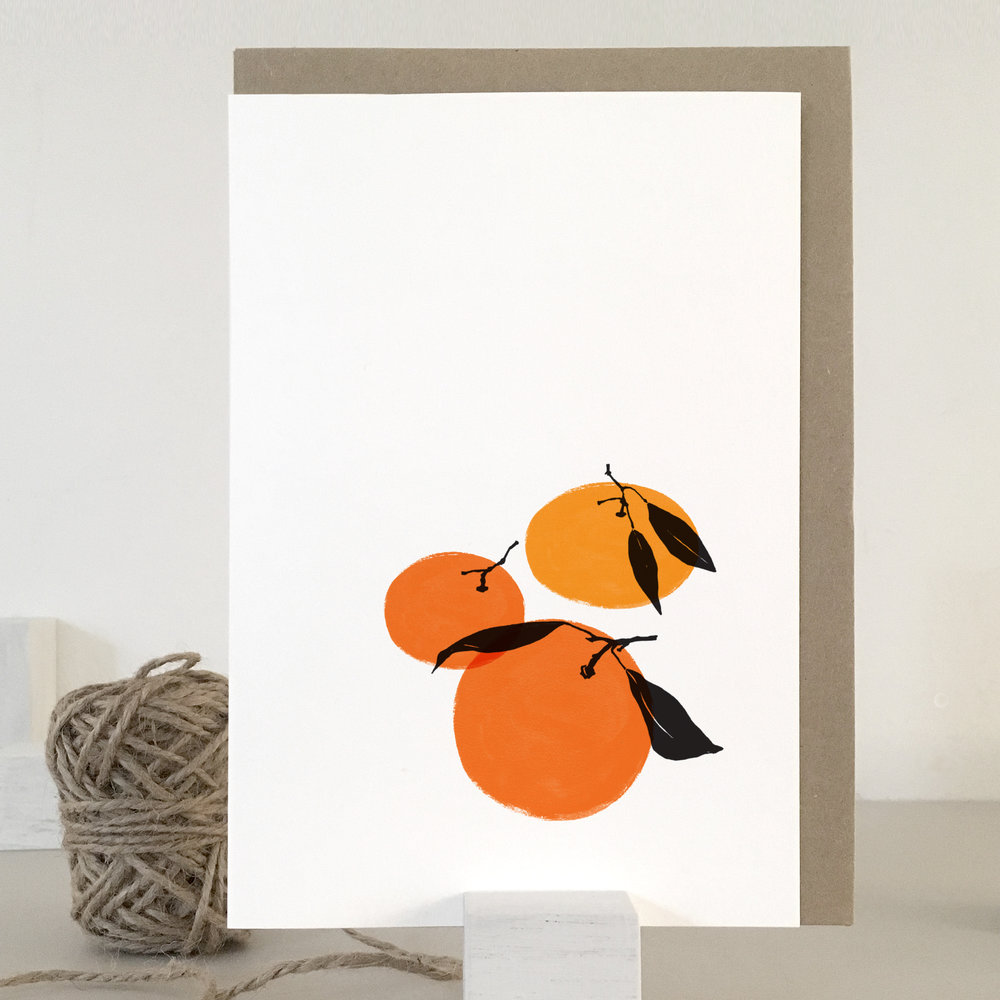 Tangerine card: TN02