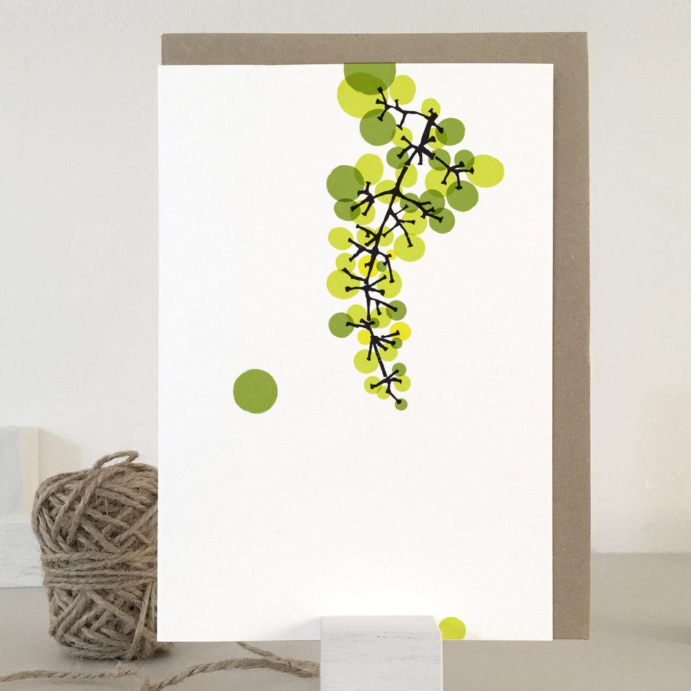 Grapes card: TN03