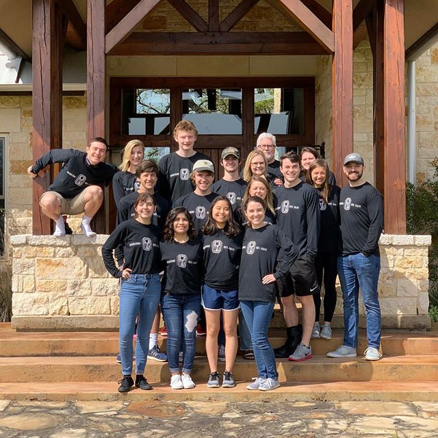 Last weekend we had our college retreat! Thank you to the Govers for hosting, and to @parkcitiesbaptistchurch for supporting our students! . . #collegeministry #thehillsmu