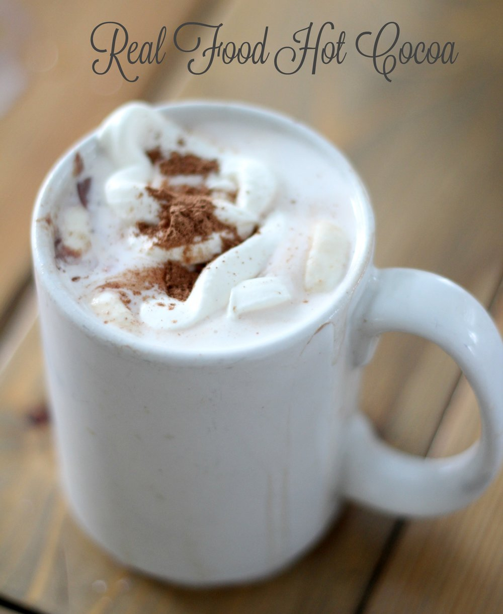 real food hot cocoa