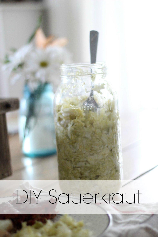 DIY Saurkraut