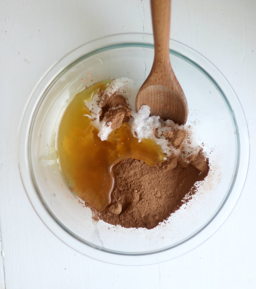 honey cocoa coconut oil