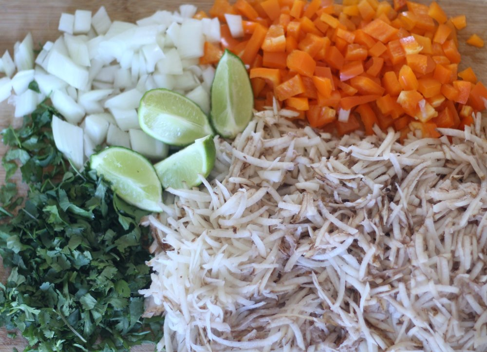 mexican hash vegetables