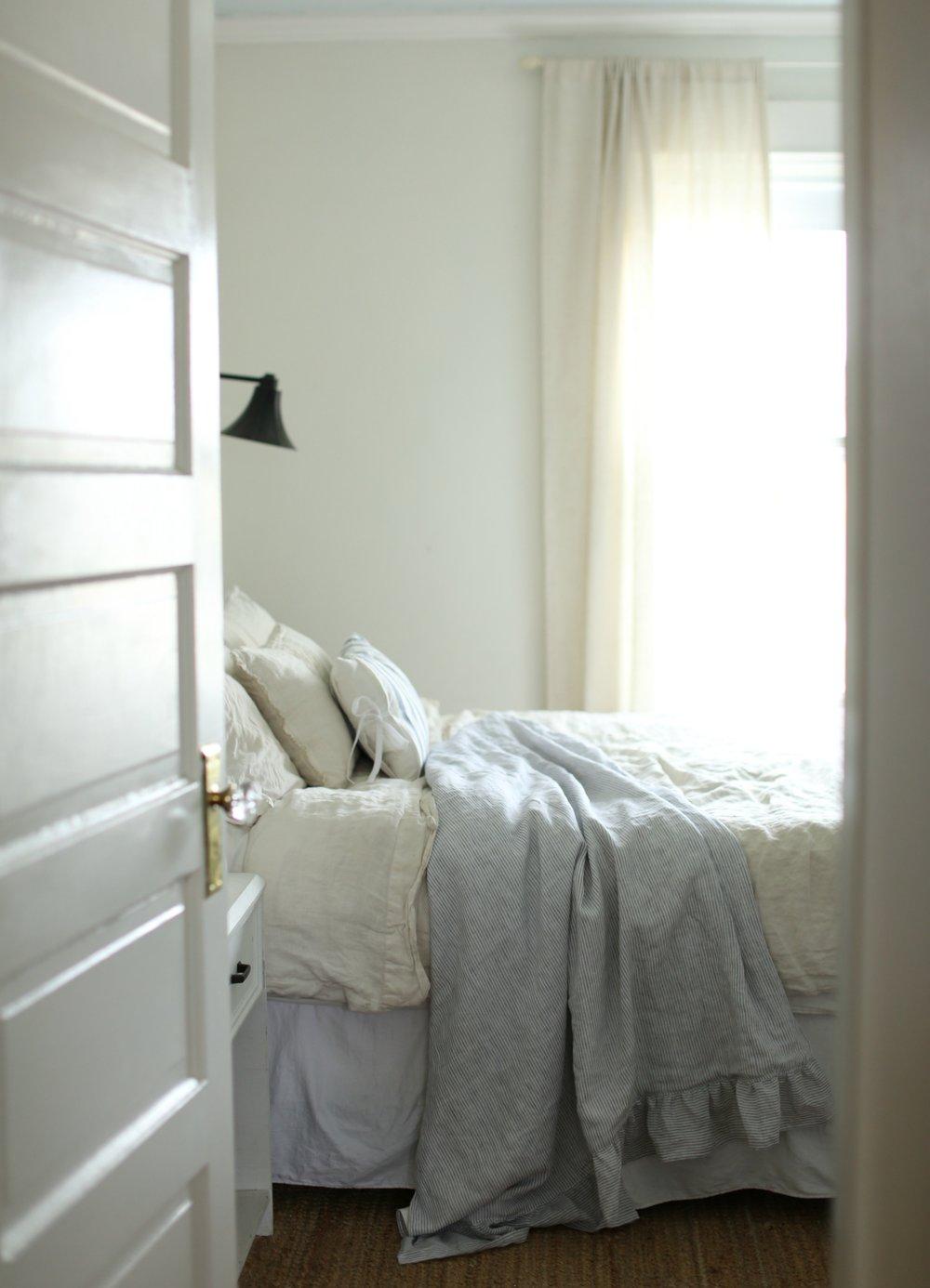 linen blanket diy