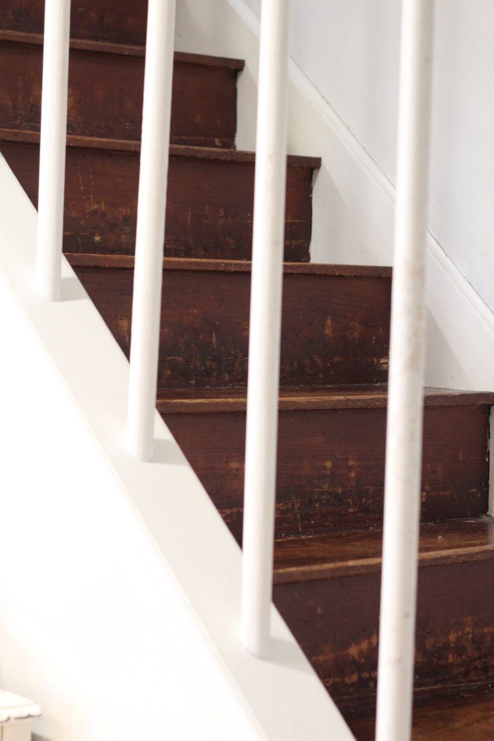 hardwood stairs makeover
