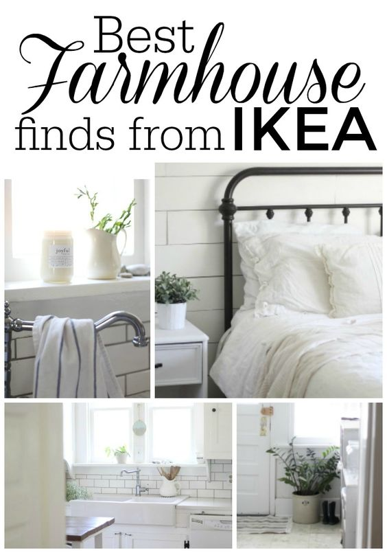 best farmhouse finds from IKEA