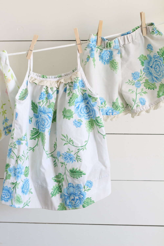 pajamas from vintage sheets