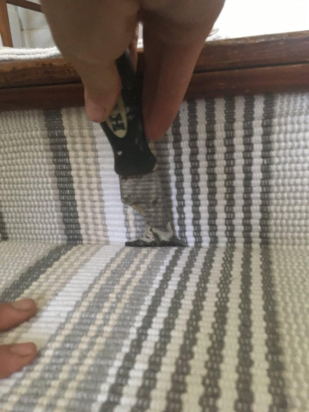 installing stair runner