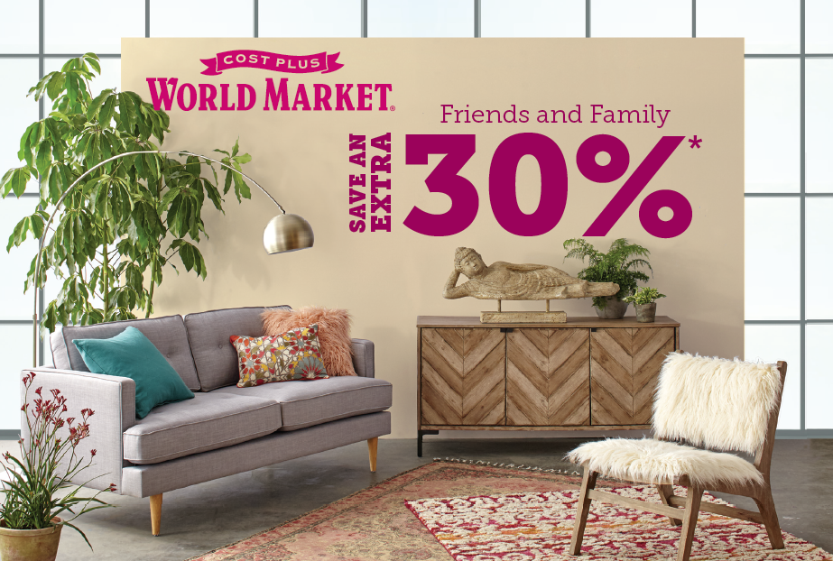 World Market friends and family event