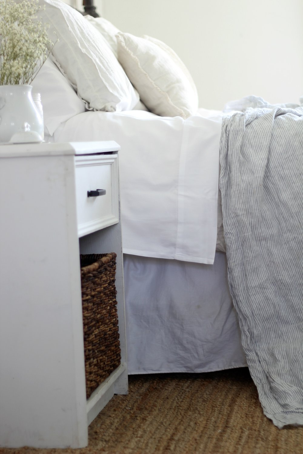 organic cotton bedding from Jefferson Lane Home