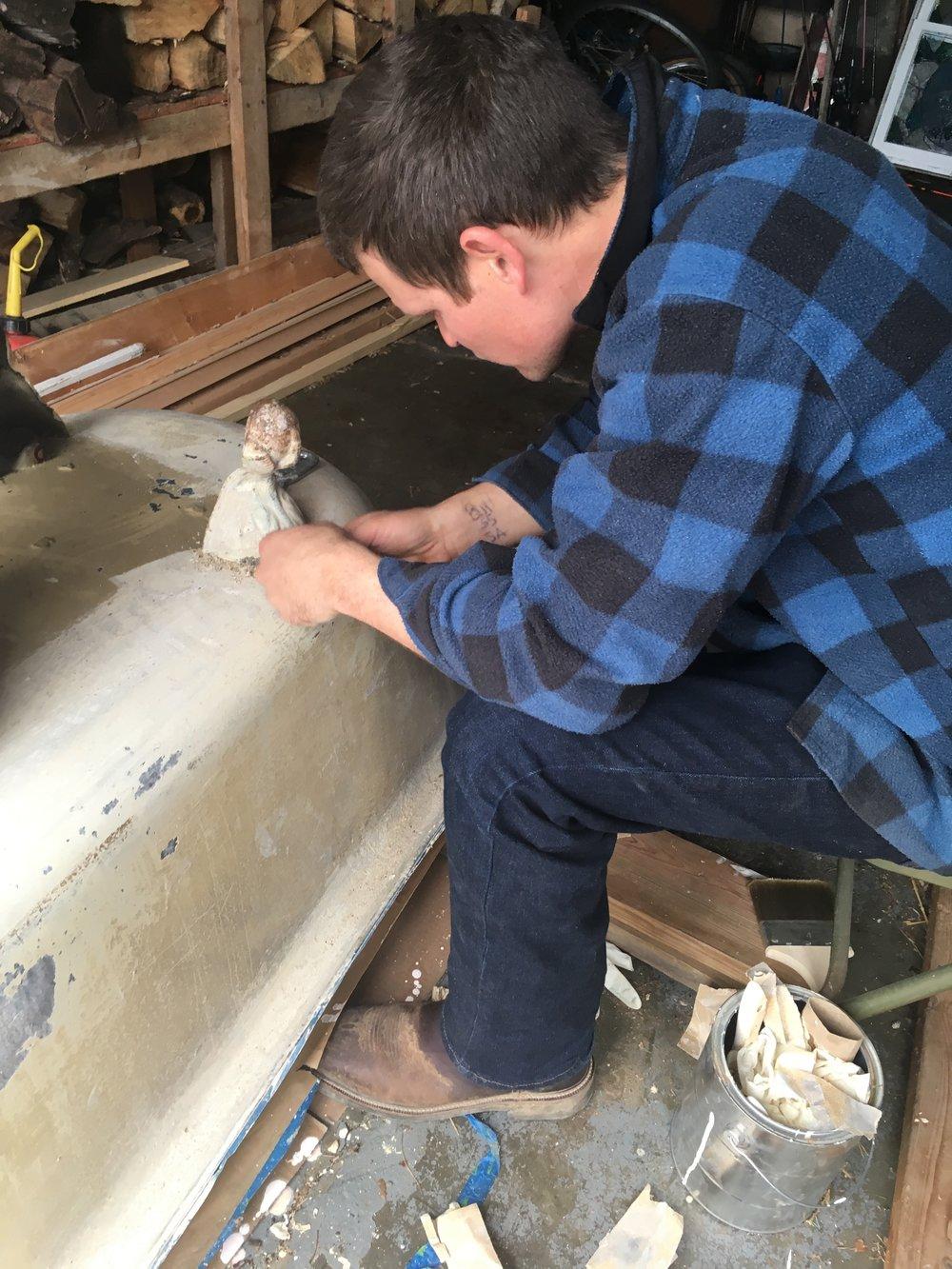 Refinishing a Clawfoot Tub