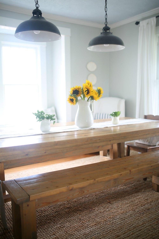 summer farmhouse tour dining room