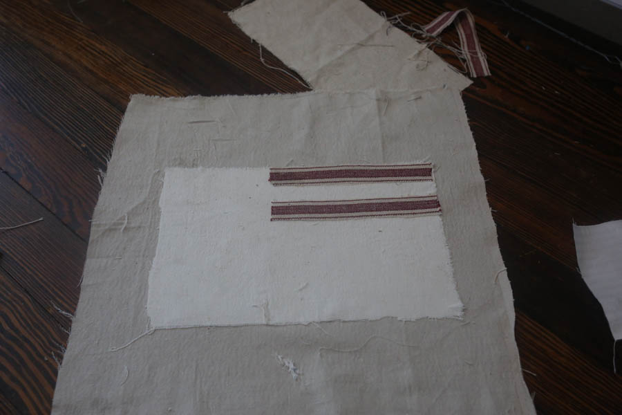 how to make an American flag pillow