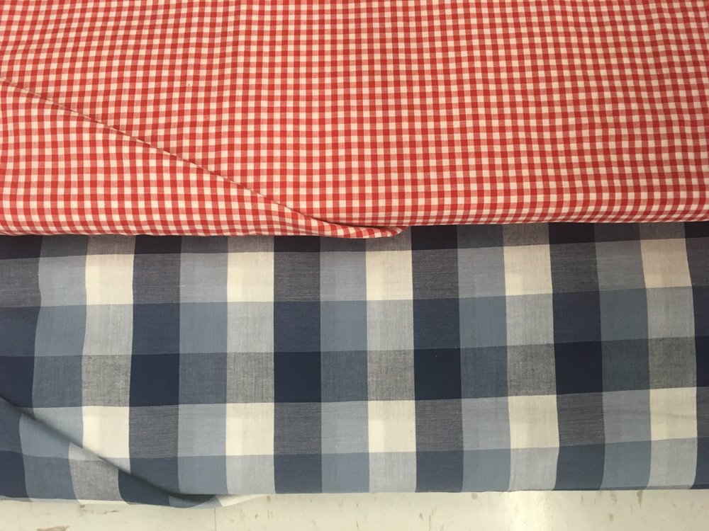 red white and blue flag pillow