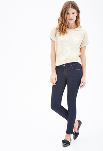 Low Rise- Ankle Skinny Jeans