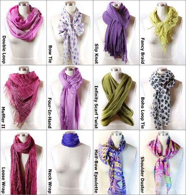 Easy-Ways-to-Tie-a-Scarf