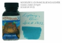 lightning blue label