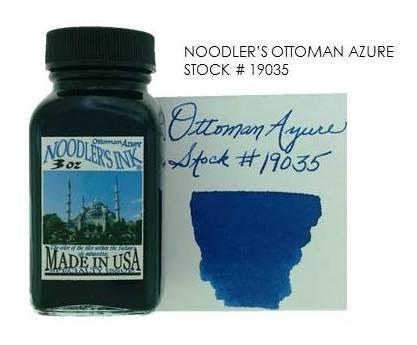 Noodler's Ottoman Azure Review