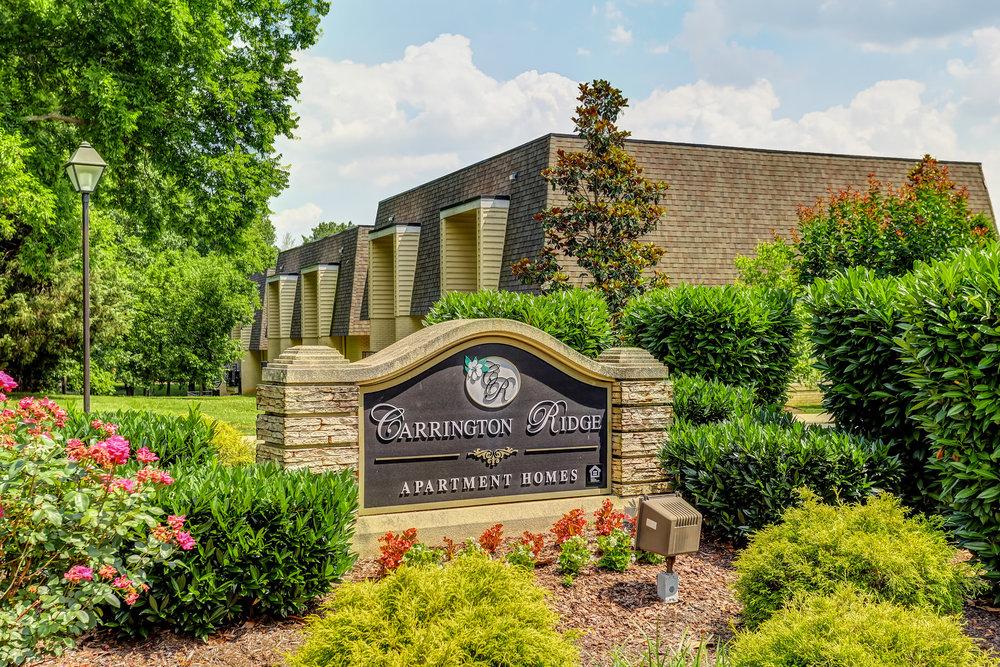 Carrington Ridge Sign