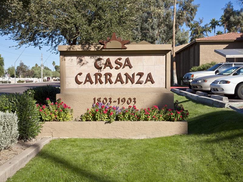 Casa Carranza Sign